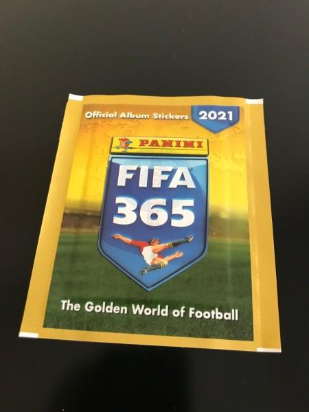 "FIFA 365 ""The Golden World of Football"" (2021) - Stickertüte"