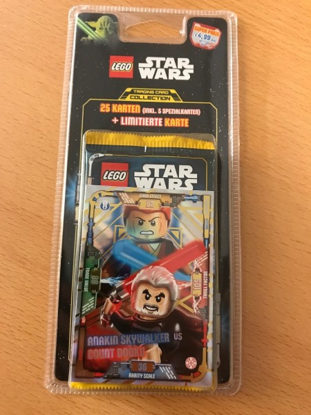 Lego Star Wars Trading Card Collection (2018) - Blister 1 ( LE19 )