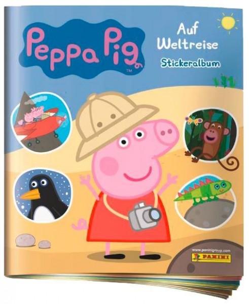 """Peppa Pig """"Auf Weltreise"""" (2019) - Stickeralbum"""