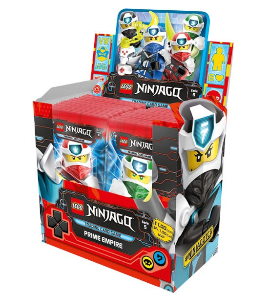 Lego Ninjago Trading Cards - SERIE 5 (2020) - Display (50 Booster)