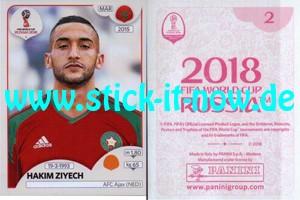 "Panini WM 2018 Russland ""Sticker"" INT/Edition - Nr. 154"
