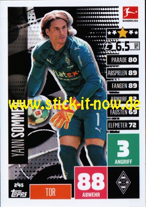 Topps Match Attax Bundesliga 2020/21 - Nr. 245