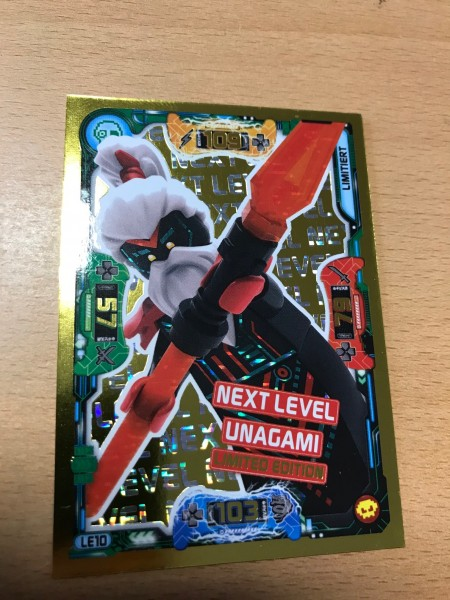 "Lego Ninjago Trading Cards - SERIE 5 ""Next Level"" (2020) - Nr. LE10"