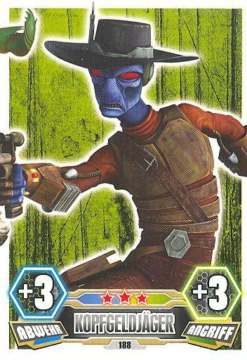 Force Attax - Serie 3 - Strike-Force - Kopfgeldjäger 5/9 - Nr. 188