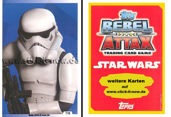Rebel Attax - Serie 1 (2015) - STRIKE-FORCE - DAS IMPERIUM 1 - Nr. 110