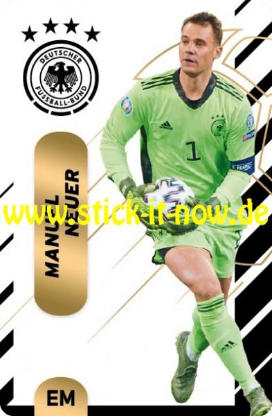 "Ferrero Team Sticker EM 2020 (2021) - ""Action"" Nr. 1 ( Neuer )"