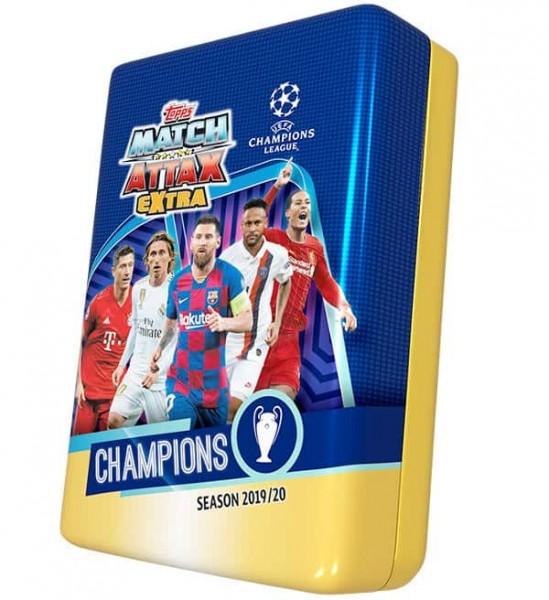 "Match Attax Champions League 2019/20 ""Extra"" - Mega Tin Dose"