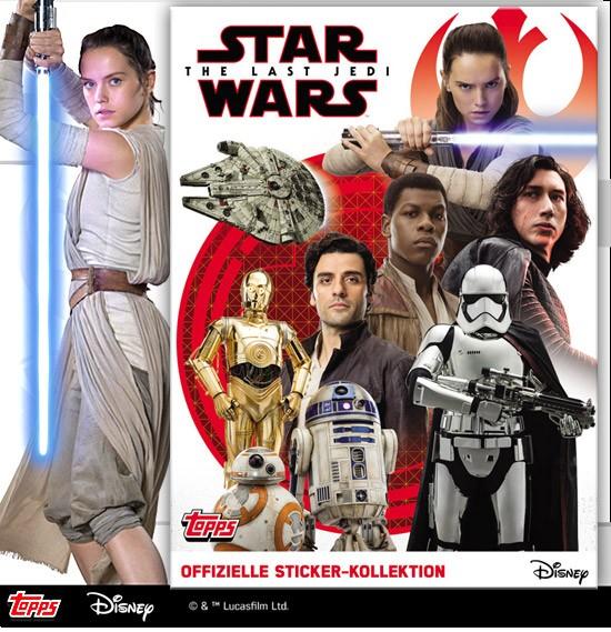 Star Wars - The Last Jedi (2017) - Stickeralbum