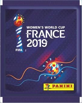 Panini Frauen WM 2019 Frankreich - Stickertüte ( 5 Sticker )