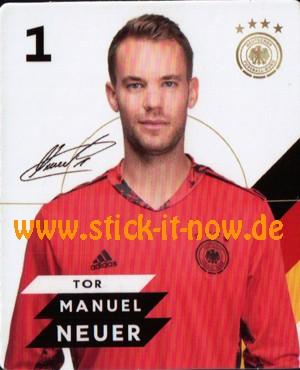 Rewe DFB Sammelkarten EM 2020 - Manuel Neuer - Nr. 1