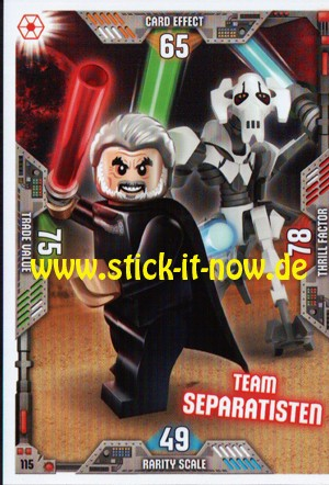Lego Star Wars Trading Card Collection 2 (2019) - Nr. 115